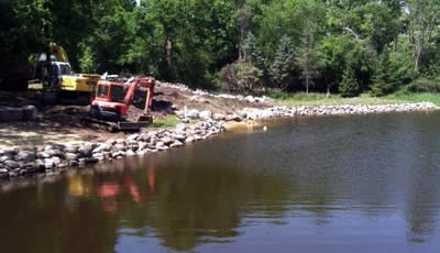 Retention Ponds | Drainage Ditches and Waterproofing Services, WI